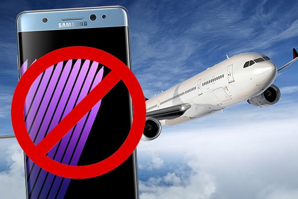 DOT Bans Samsung Galaxy Note7 from US Airplanes & Air Ambulances